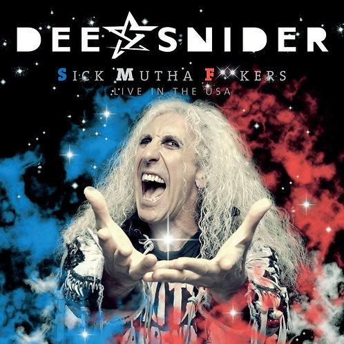 Cd Dee Snider Sick Mutha Fuckers Live in the USA