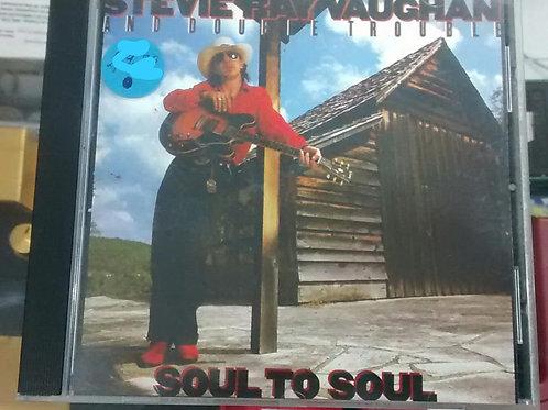 Cd Usado Stevie Ray Vaughan Soul to Soul