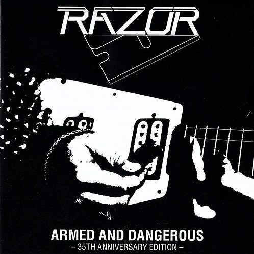 Cd Razor Armed And Dangerous