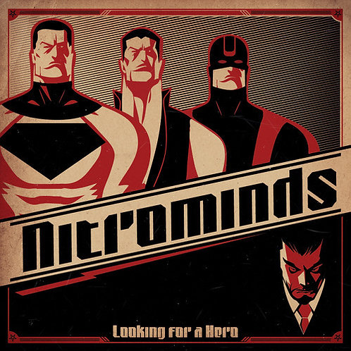 Cd Nitrominds Looking For A Hero Digipack