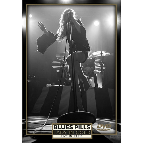 DVD CD Duplo Blues Pills Lady In Gold Live in Paris