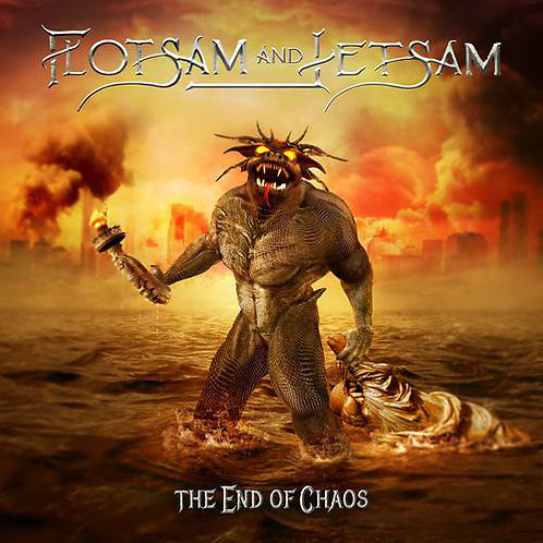 Cd Flotsam And Jetsam The End of Chaos Slipcase