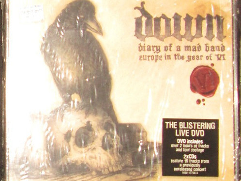 CD DVD Down Diary Of A Mad Band Triplo