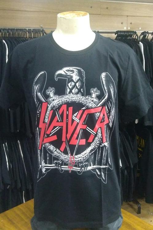 Camiseta Slayer Águia de Ferro Bomber BTCM586