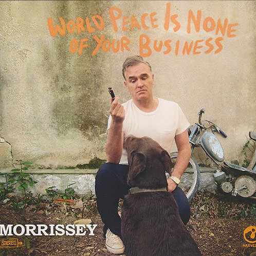 Cd Morrissey World Peace Is None of Your Busines Digipack