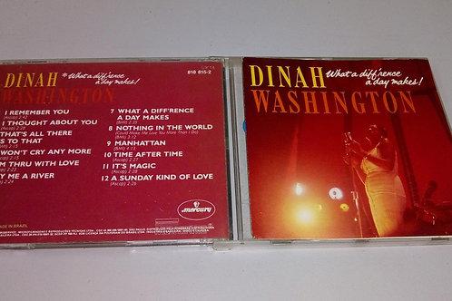 Cd Usado Dinah Washington What What A Diffrence A Day Makes