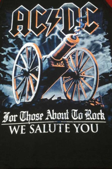 Camiseta Manga Longa AC/DC Those About Bomber BLA01