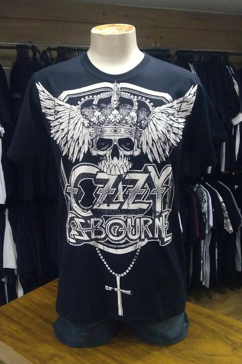 Camiseta Ozzy Osbourne Mad Man PROM01