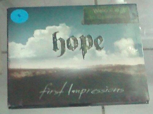 Cd Usado Hope First Impressions