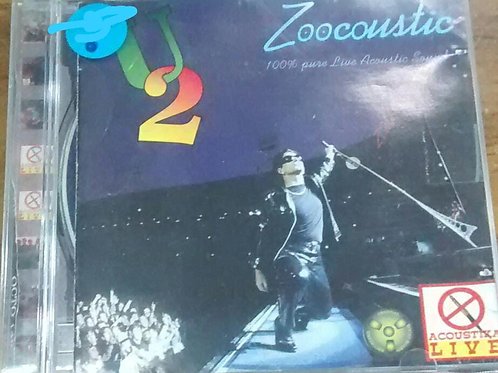 Cd Usado U2 Zoocoustic Live Bootleg