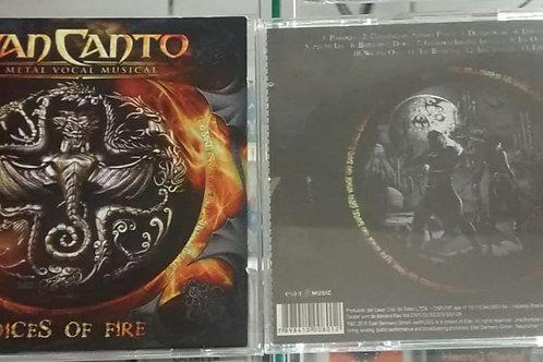 Cd Usado Van Canto Voices Of Fire