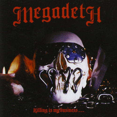 Cd Megadeth Killing Is My Business... Importado Argentino