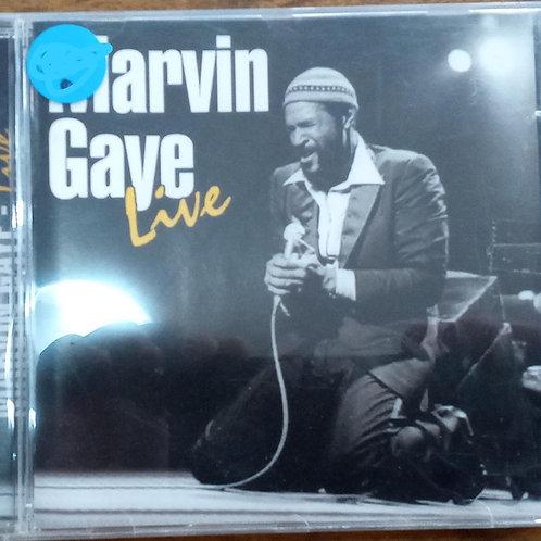 Cd Usado Marvin Gaye Live