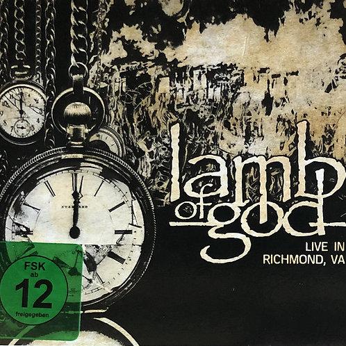 Cd + Dvd Lamb Of God Live In Richmond VA Digipack Novo Lacre
