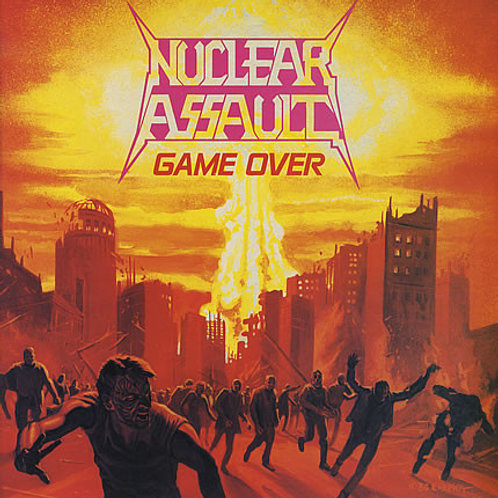 Cd Nuclear Assault Game Over IMPORTADO