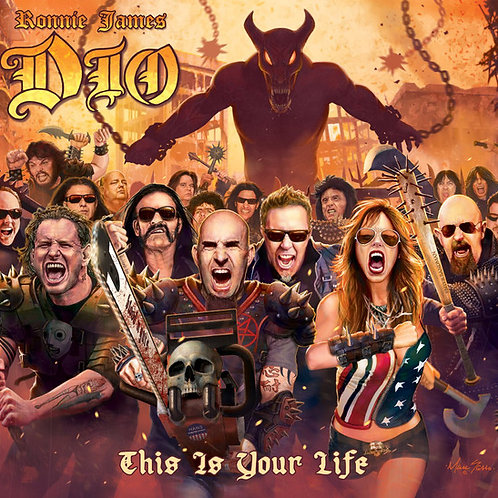 Cd Dio This is Your Life Tributo Digipack