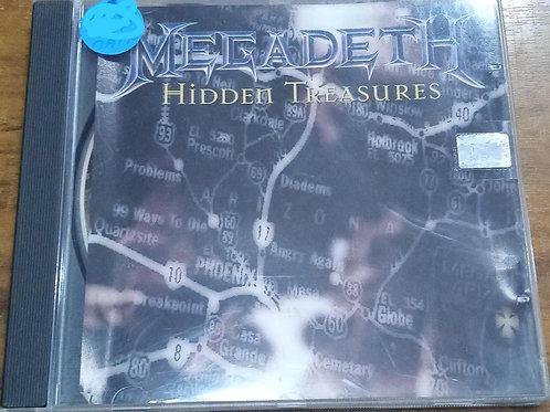 Cd Usado Megadeth Hidden Treasures
