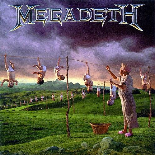 Cd Megadeth Youthanasia Remastered