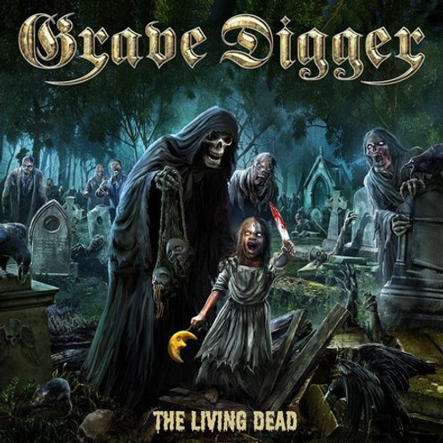Cd Grave Digger The Living Dead Sliping Case