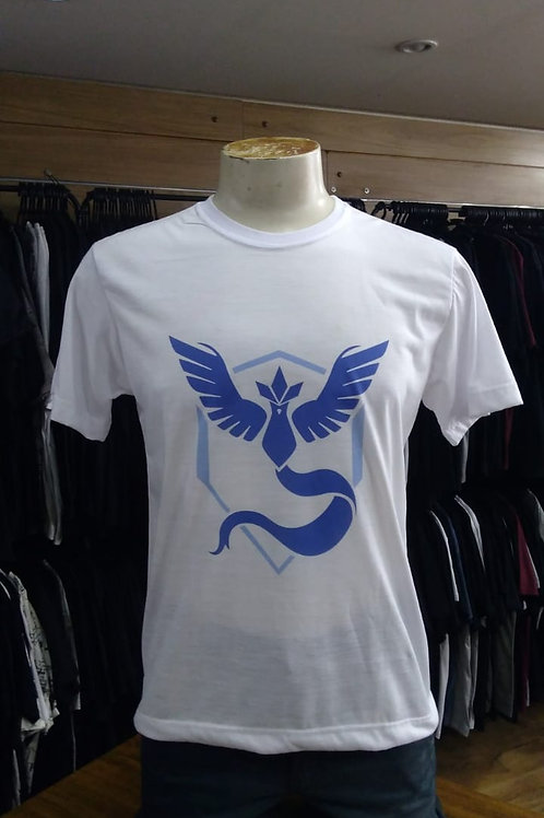 Camiseta Pokemon El Elyon Branca PMC02