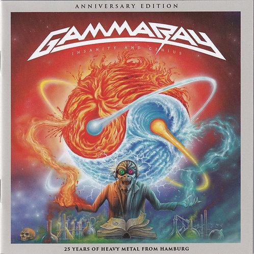 Cd Gamma Ray Insanity And Genius 25th Duplo