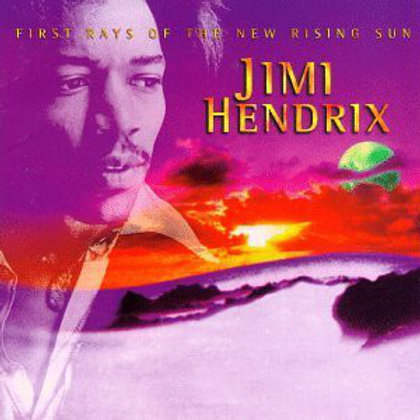 CD DVD Jimi Hendrix First Rays Of The New Rising