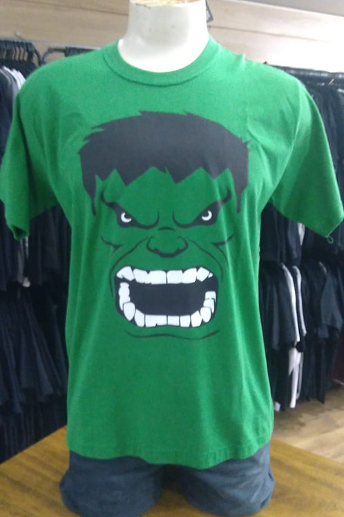 Camiseta Hulk Verde Rock Wear RIH01