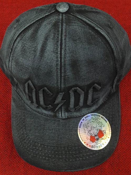 Boné Bomber Ac/dc Logo Preto BTBC059