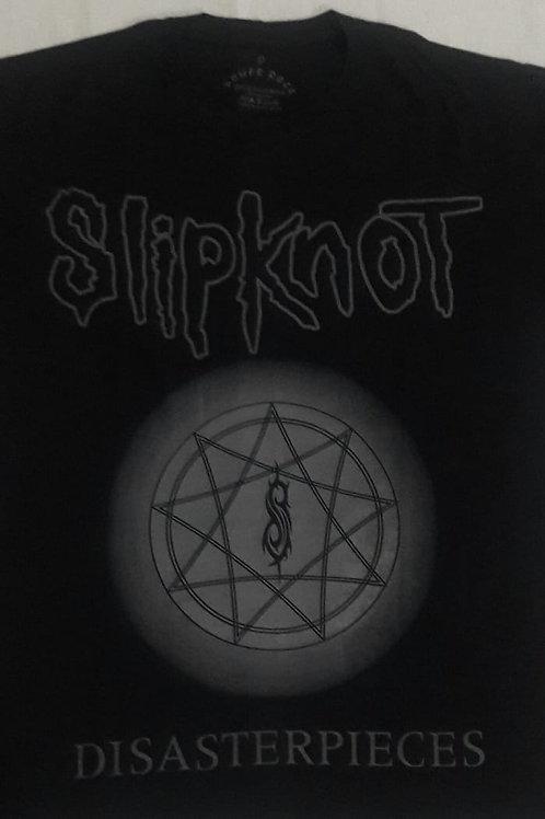 Camiseta Slipknot Disaterpieces Preto Power Rock PRSN1
