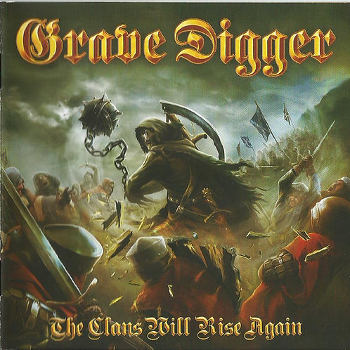 Cd Grave Digger The Clans Will Rise Again