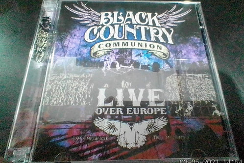 Cd Usado Black Country Communion Live Over Europe Duplo