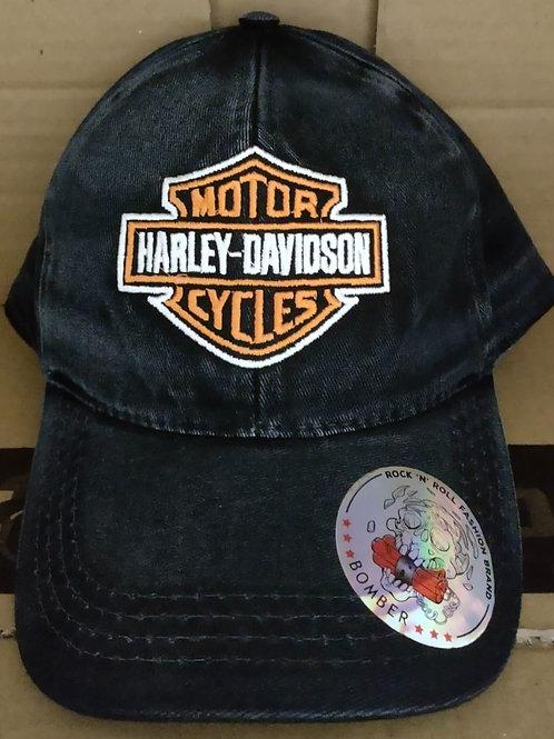 Boné Bomber Harley-Davidson Logo Colorido  BTBC039