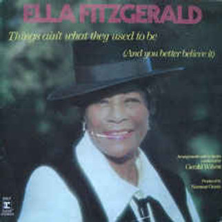 Cd Ella Fitzgerald Things Aint What They Used to Be