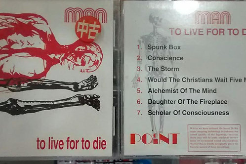 Cd Usado Man To Live For To Die