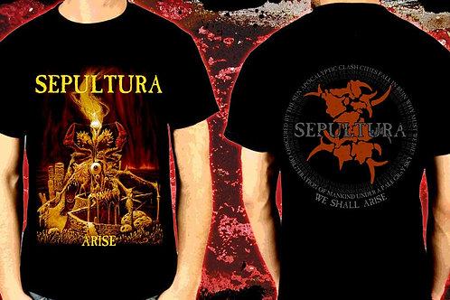 Camiseta Sepultura Arise El Elyon CMS01