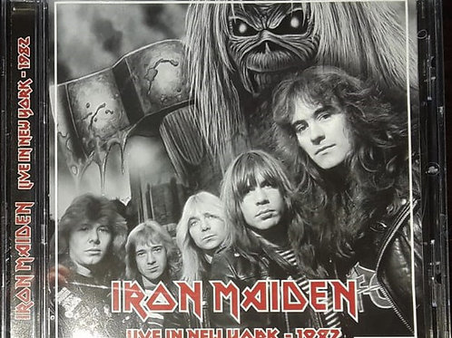 Cd Iron Maiden Live In New York