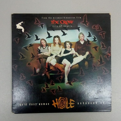 Cd Usado Hole Gold Dust Woman The Crow City Of Angels Import