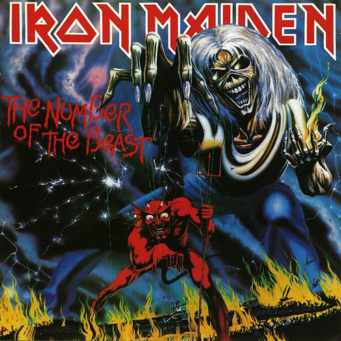 Cd Iron Maiden The Number Of The Beast Importado
