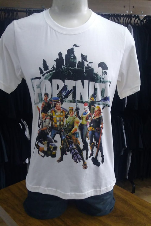 Camiseta Fortnite Creme HCDFN02