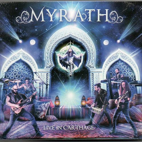 CD DVD Myrath Live In Carthage