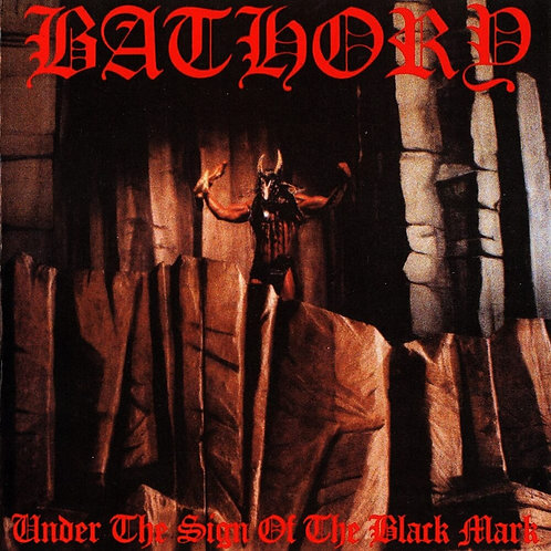 CD Bathory Under The sign Of The Black Mark Importado
