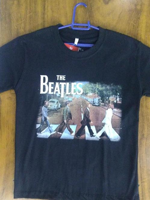 Camiseta Infantil Beatles Abbey Road CIBA03