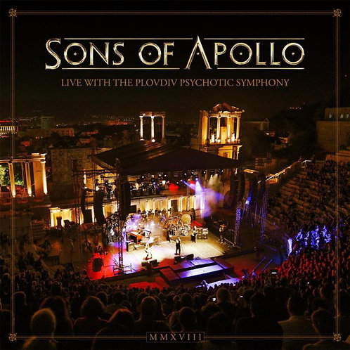 Cd Sons Of Apollo Live With The Plovdiv Psychotic Symphony
