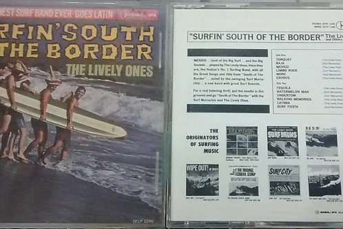 Cd Usado The Lively Ones Surfin South of The Border