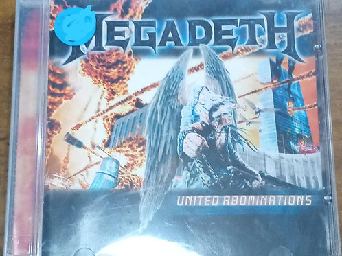 Cd Usado Megadeth United Abominations Importado