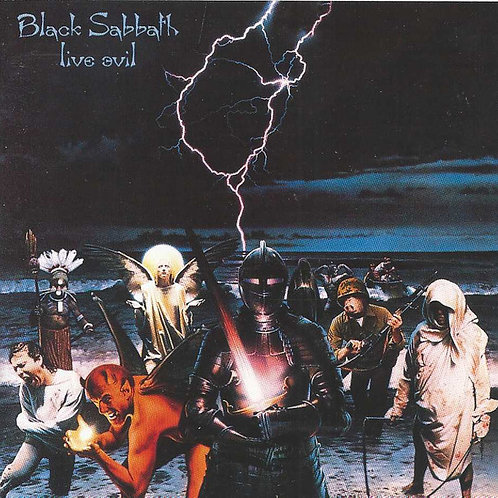 CD Black Sabbath Live Evil