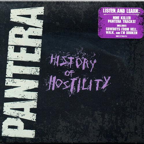 Cd Pantera History of Hostility