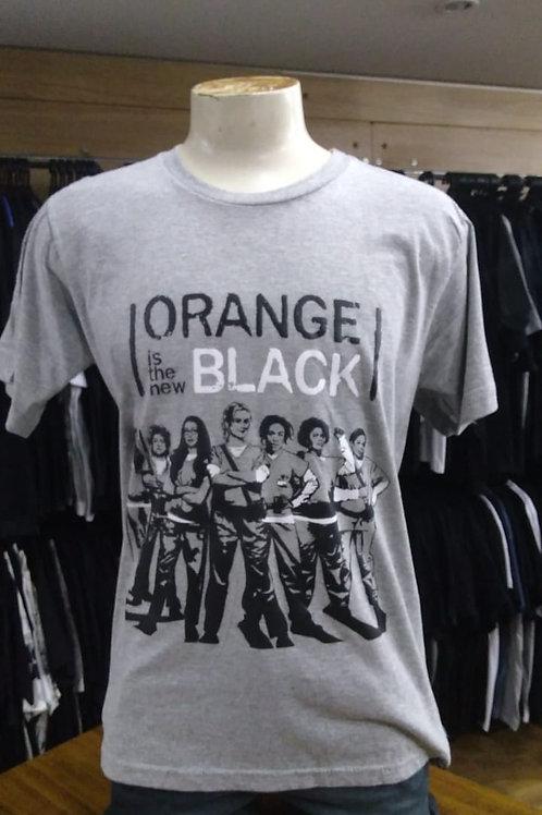 Camiseta Orange is the New Black Cinza ONB04