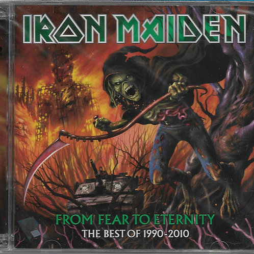 Cd Iron Maiden From Fear From Eternity Coletânea