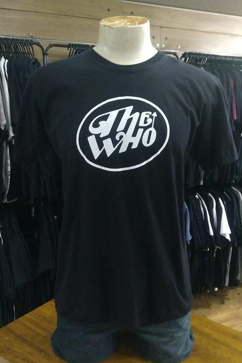 Camiseta The Who Logo Branco El Elyon A046